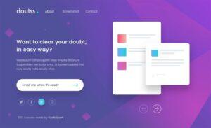 Colección de Landing Page para despejar tu creatividad