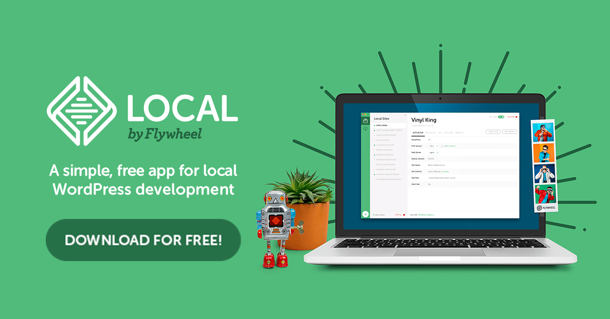 Usando Local como tu entorno de desarrollo WordPress